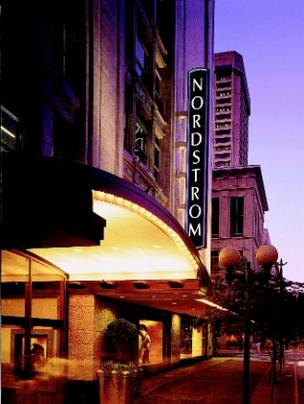 Nordstrom reported that Q3 sales were up compared with 2011.