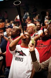 The Jacksonville Sharks won the Arena Bowl this year, defeating the Arizona Rattlers 73-70.