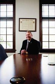 American Enterprise Bank of Florida Senior Vice President and CFO T. Edwin Stinson.