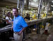 Swisher Vice President of Human Resources Lee Creasman at Swisher's Northside facility.