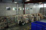 A majority of the recycled materials are sorted into various bales. The bales are then shipped across the world to various countries to be remade into other products. China is the one of the largest countries Republic Services ships to.