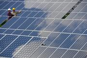 IBISWorld says the solar panel manufacturing industry has been at the forefront of the green industrial movement with an annual revenue growth of 32.3 percent from 2002 to 2012.