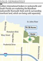 Downtown's Wyndham RiverWalk Jacksonville site under contract, could boost interest in JEA site