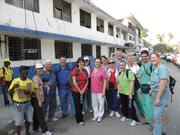 The team that Jacksonville Orthopaedic Institute worked with to help victims of the January earthquake in Haiti.