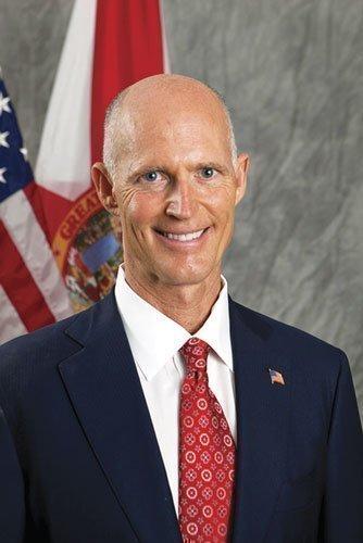 Gov. Rick Scott.