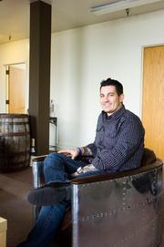 Feature [23] Chief Strategist Jeremy Vaughan at the company's St. Augustine headquarters.