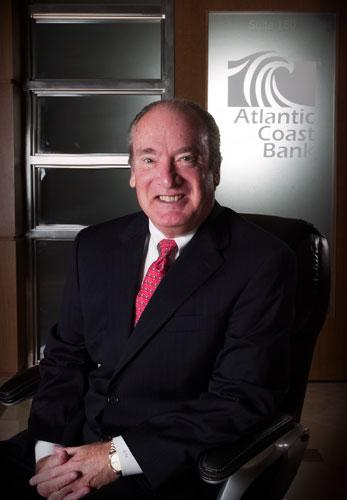 Atlantic Coast Financial President and CEO Tom Frankland.