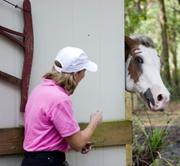 When Mary Baer hangs up her television anchoring spurs, look for her on her farm in St. Johns County.