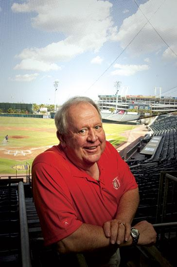 """Peter """"Pedro"""" Bragan Jr. is owner and president of the Jacksonville Suns."""