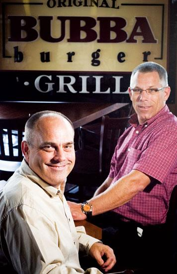 Bubba Foods CEO Billy Morris and Chief Operating Officer Steve Coon.