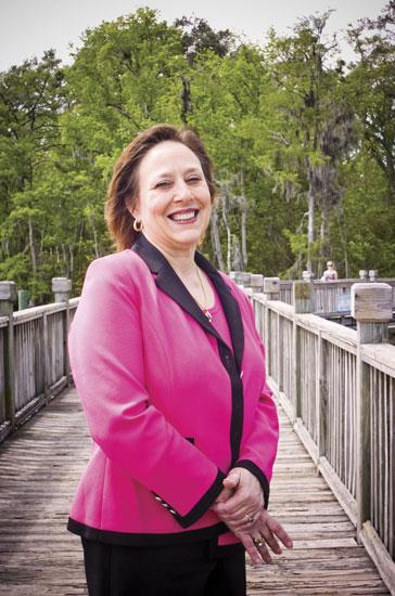 """Caroline Lovelace is a breast cancer survivor and senior consultant at Dynamic Corporate Solutions Inc. She went through a surgery and six weeks of radiation and said she """"never felt pressured for taking time off of work."""""""