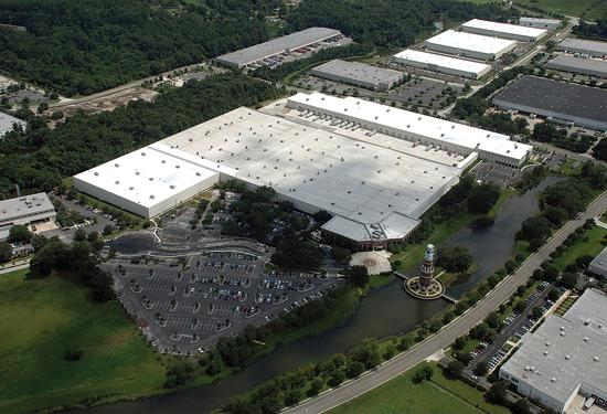 Coach Inc.'s 850,000-square-foot distribution center at the Jacksonville International Tradeport.