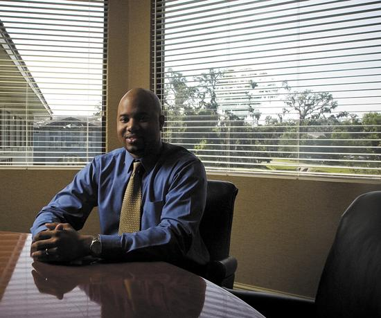 Anthony Brooks, 29, is an equity/fixed income portfolio management intern at Sawgrass Asset  Management in Jacksonville Beach. He said he's earned a lot of real-world experience with the firm.