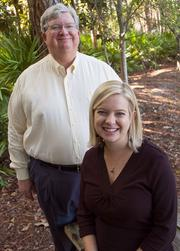 Environmental Services Inc. CEO Rhodes Robinson and marketing and human resources manager Courtney Taylor.