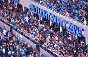 The Bud Light Party Zone is one place to see and be seen or to host company guests.