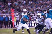 Maurice Jones-Drew runs for a first down in Monday night's game.