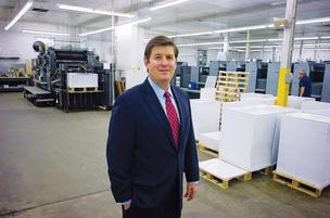 John Falconetti of Drummond Press is the third-generation owner of the family business.
