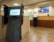 New features in the Orange Park Medical Center's Emergency Room include a self-service touch screen kiosk.