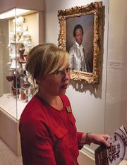 Cummer Museum Chief Curator Holly Keris explains the Meissen porcelain collection.