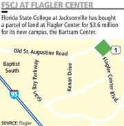 Florida State College at Jacksonville is building a new campus in Flagler Center.