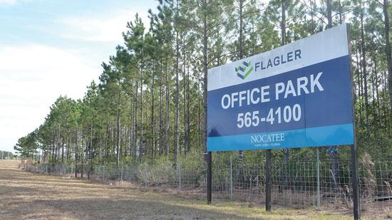 Flagler advertises Nocatee property.