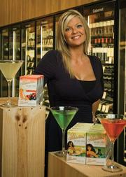 Here's to you: Sabrina Pardue's cocktail mixes are now sold in 1,300 stores, with plans to expand overseas.