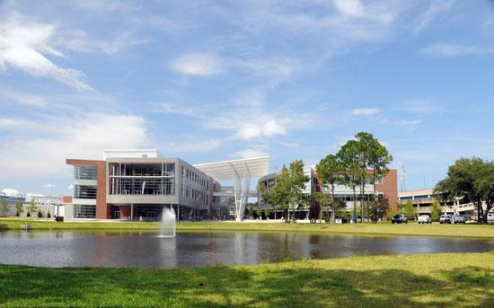 The University of North Florida's Student Union is one of many LEED certified buildings in Northeast Florida.