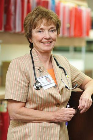 Mary Lesperance is a nurse practitioner at Mayo Clinic Florida.