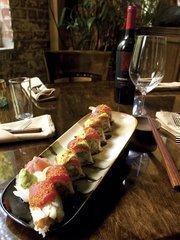 Indochine's geno roll sushi.