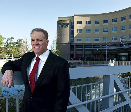 Memorial Hospital CEO Jim O'Loughlin thrives on conquering challenges.