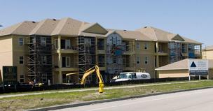 The 252-unit Cabana Club is under construction near the interchange of Baymeadows Road and State Road 9A.