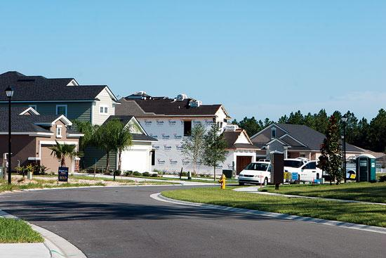 Nocatee'€™s fastest-growing community is Greenleaf Village. Homes between 1,500 and 4,000 square feet start at $170,000 there and phase four is under development.