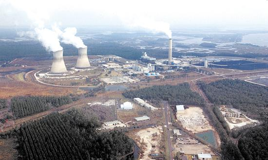 JEA'€™s Northside coal-and gas-fired generating plant.