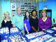 The Ponte Vedra Chamber of Commerce held a Chamber After Hours Feb. 6. Sponsor Dr. Donald Barnhorst and Dr. Karen Wolf from Ponte Vedra Eye Associates posed here with Chamber president Felicia Cox and Chamber Membership Director Melissa Landoll.of the Chamber's Government Affairs Committee.