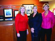 The Ponte Vedra Chamber of Commerce hosted a Chamber Before Hours Feb. 7. Sponsors April Biller and Tracie Porreca from Hampton Inn posed here with Ponte Vedra Chamber Executive Director Sandy Kavanaugh.