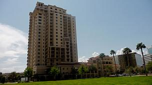 San Marco Place on Riverplace Boulevard is one of three residential towers on the Southbank of Downtown Jacksonville