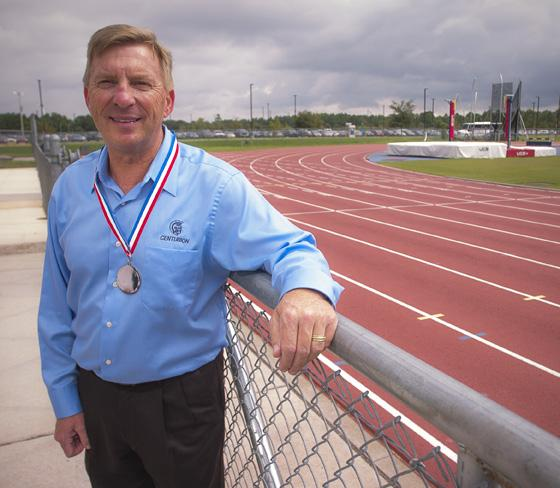 Rick Ingram is chief financial officer of Centurion Auto Logistics Inc.