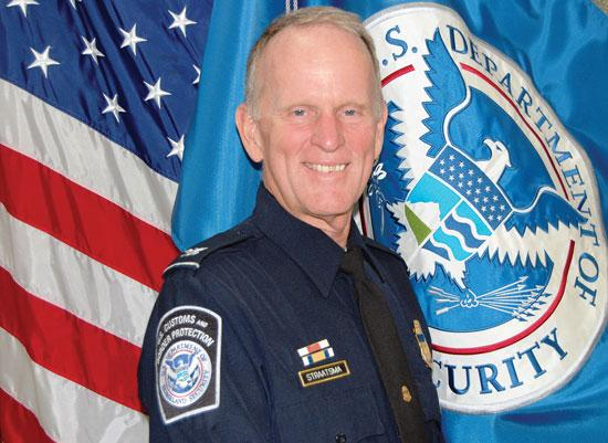 Douglas Straatsma, the new area port director for U.S. Customs and Border Protection.