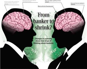 From banker to shrink?