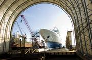 BAE Systems Southeast Shipyards Jacksonville repairs and refits luxury yachts, commercial and Navy ships, and it is now building a barge to install wind turbines in offshore wind farms.