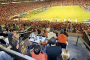 Sun Life Stadium is offering $25 gift cards to club seat ticket holders.