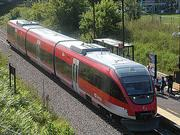 This commuter train in Ottawa is an example of what Jacksonville's light-rail transportation might look like if adopted and built.