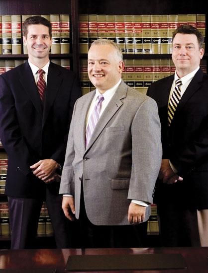 From left: Jason Perry, Anthony Manna and Kenneth Krismanth are leading Signet Enterprises to a record year in 2011.