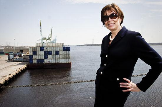 Trailer Bridge CEO Ivy Suter faces a difficult decision in three weeks to resolve a debt of $82 million.