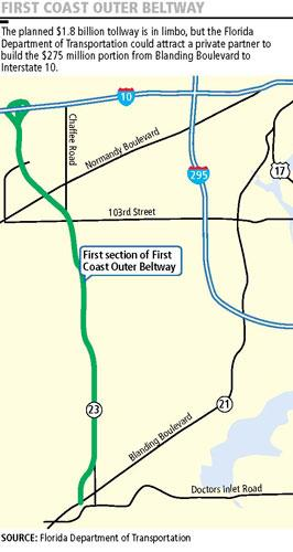 Construction has begun on the first stages of the First Coast Outer Beltway.