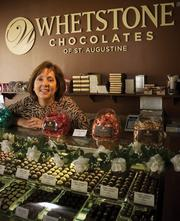 Whetstone Chocolate President Virginia Whetstone plans to run tours to educate customers on making quality chocolate.