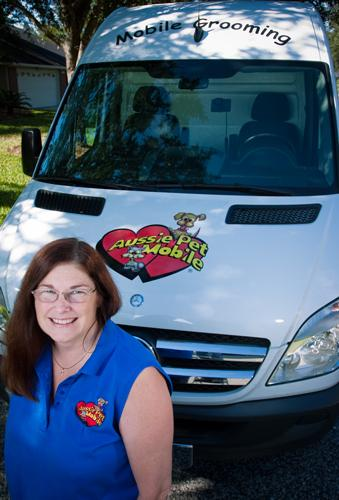 When Stacy Necessary was laid off from her pharmaceutical sales job, she used a combination of her severance package and her 401(k) to invest in a new business — an Aussie Pet Mobile franchise.