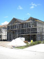 More than a dozen new homes are under construction in Greenland Chase, a housing development near the intersections of Interstate 95, State Road 9A and Philips Highway.