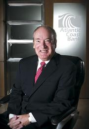 Tom Frankland took over as CEO of Atlantic Coast Bank in May.