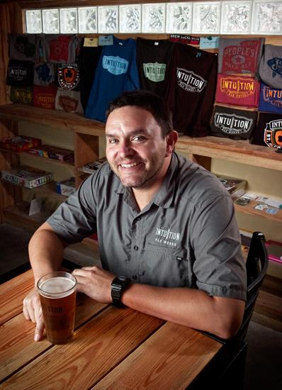 Intuition Ale Works owner and brewer Ben Davis wants to bring his popular brewery Downtown.